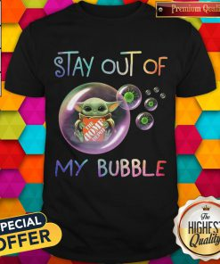 Nice Baby Yoda Hug The Home Depot Stay Out Of My Bubble Coronavirus Shirt