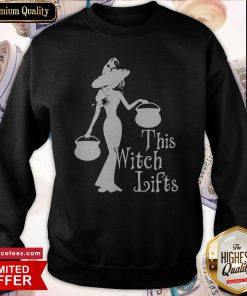 Official This Witch Lifts Halloween Sweatshirt
