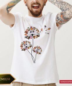 Official Owls Dandelions Classic Men's T-Shirt- Design By Romancetees.com