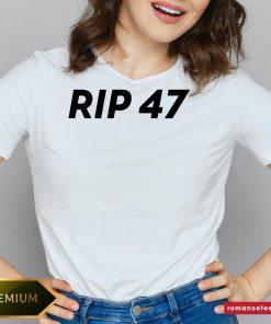 Official RIP 47 Sleeveless Top V-neck- Design By Romancetees.com