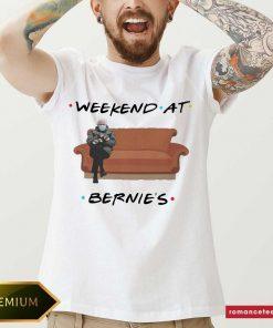 Bernie Sanders Mittens Weekend At Bernie's Shirt