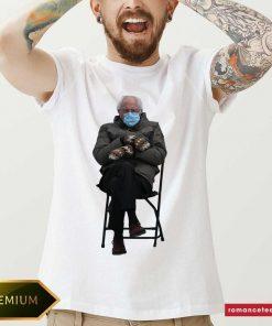 Bernie Sanders' Viral Inauguration Meme Is Now Immortalized In Shirt