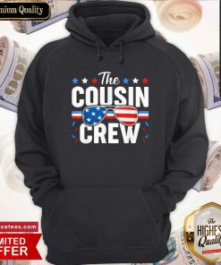 Cousin Crew 4th Of July Patriotic American Family Matching Hoodie